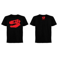 Dinoapp Logo Black Tee