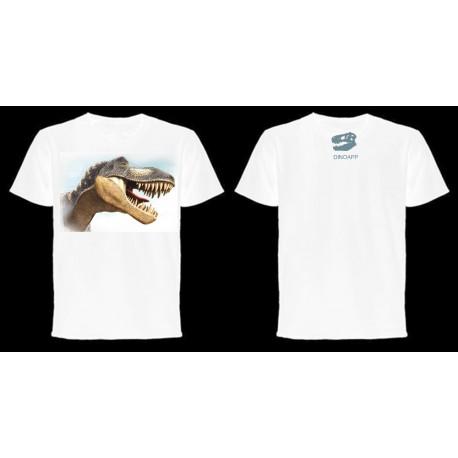 Dinoapp Tyrannosaurus White Tee