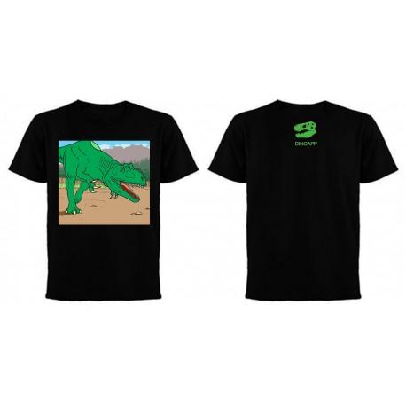 Allosaurus on the run