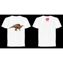 Dinoapp Ouranosaurus white tee