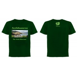 Scelidosaurus Irish Dinosaur Green Tee